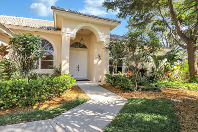 Jupiter Single Family Home For Sale: 18820 Cassine Holly Court