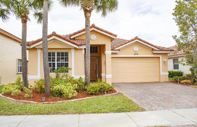 Port Saint Lucie Single Family Home For Sale: 2234 SW Newport Isles Boulevard