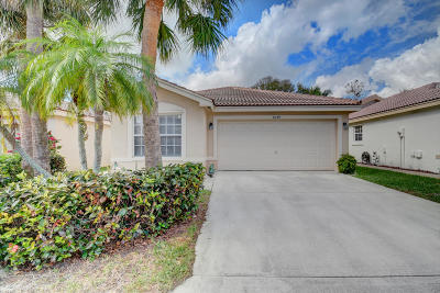 Boynton Beach Single Family Home For Sale: 8039 Stirrup Cay Court