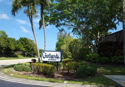 Boca Raton Condo For Sale: 7660 Courtyard Run W