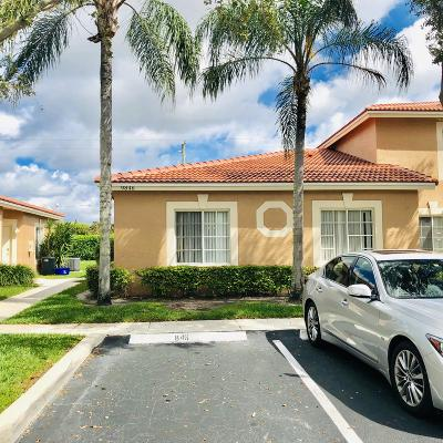 Boynton Beach Single Family Home For Sale: 9846 Kamena Circle