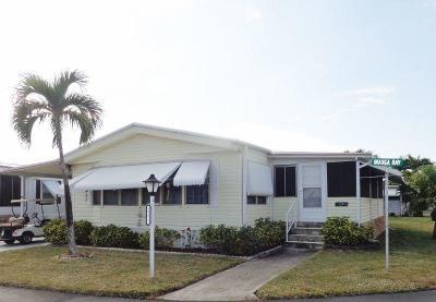 Boynton Beach Mobile Home For Sale: 49012 Inauga Bay