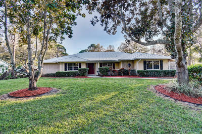Fort Pierce Single Family Home For Sale: 10653 Pine Cone Lane