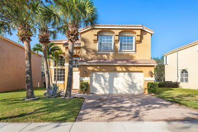 Lake Worth, Lakeworth Single Family Home For Sale: 6112 Oak Bluff Way Way