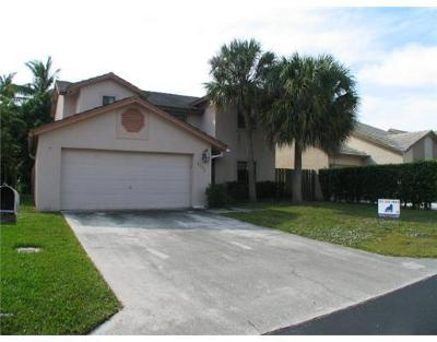 Lake Worth, Lakeworth Single Family Home For Sale: 6056 Strawberry Lakes Circle