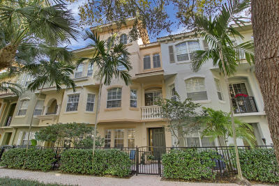 Palm Beach Gardens Townhouse For Sale: 2441 San Pietro Circle