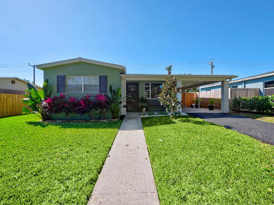 West Palm Beach Single Family Home For Sale: 932 Andrews Road