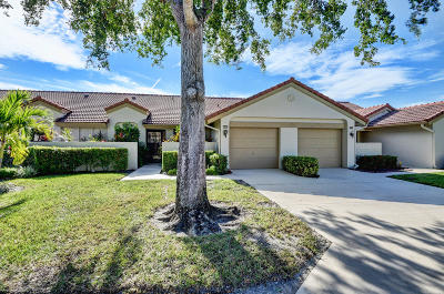 Boynton Beach Single Family Home For Sale: 5803 Parkwalk Circle W