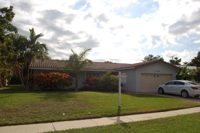 Boca Raton Single Family Home For Sale: 1300 SW 13th Street