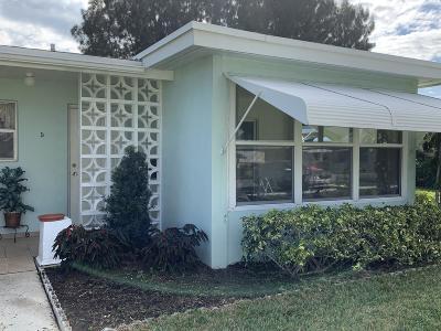 Delray Beach Condo For Sale: 162 High Point Blvd Boulevard #D