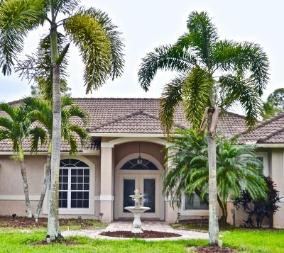 Loxahatchee Single Family Home For Sale: 8211 Banyan Boulevard