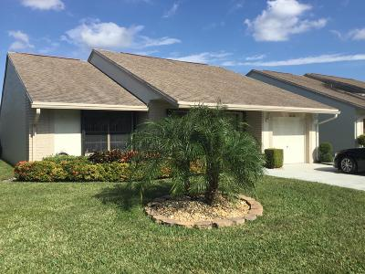 Boynton Beach Single Family Home For Sale: 12112 Country Greens Boulevard