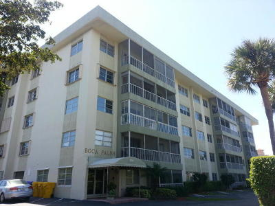 Boca Raton Condo For Sale: 290 W Palmetto Park Road #209