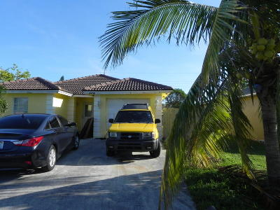 Boynton Beach Single Family Home For Sale: 524 NW 11th Avenue