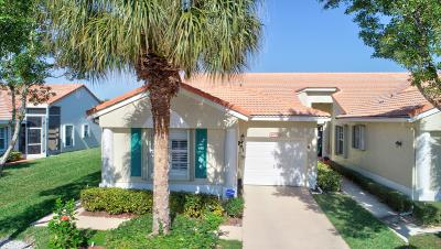 Delray Beach Single Family Home Contingent: 6099 Caladium Road