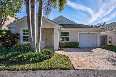 Palm Beach Gardens Single Family Home For Sale: 22 Commodore Place