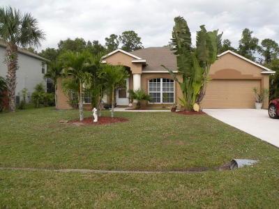 Port Saint Lucie Single Family Home For Sale: 849 SE Streamlet Avenue