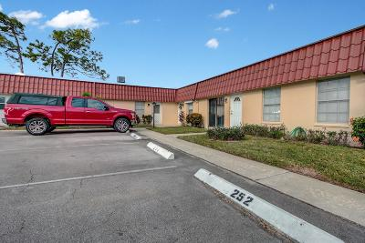 Lake Worth Condo For Sale: 256 Down East Lane #A