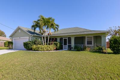 Port Saint Lucie Single Family Home For Sale: 4001 SW Winslow Street