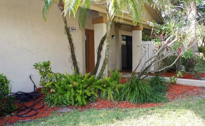 Coconut Creek Single Family Home For Sale: 4860 NW 22nd Street #4174