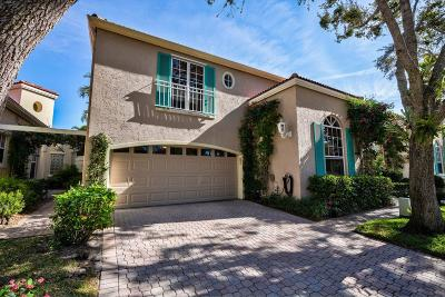 Palm Beach Gardens Single Family Home Contingent: 61 Via Del Corso