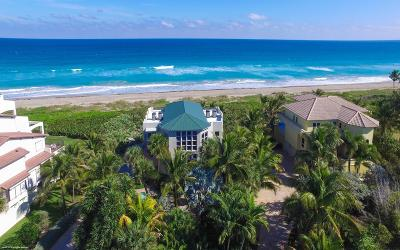 Martin County Single Family Home For Sale: 4643 NE Ocean Boulevard