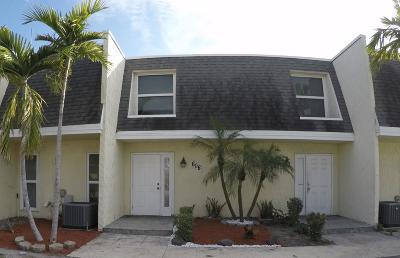 Boynton Beach Rental For Rent: 606 SW 1st Street #606