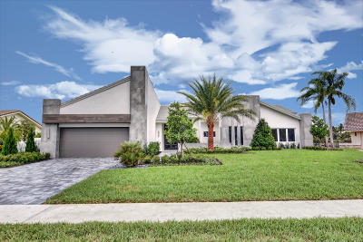 Delray Beach Single Family Home For Sale: 3845 Live Oak Boulevard