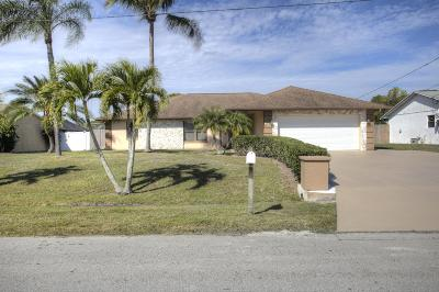 Port Saint Lucie Single Family Home For Sale: 455 SE Fallon Drive