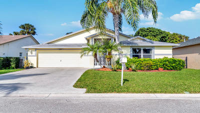 Greenacres Single Family Home For Sale: 1030 Salmon Isle(S)