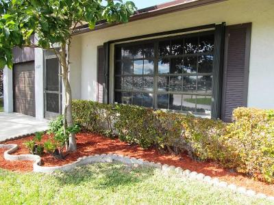 Greenacres Single Family Home For Sale: 6323 Tall Cypress Circle