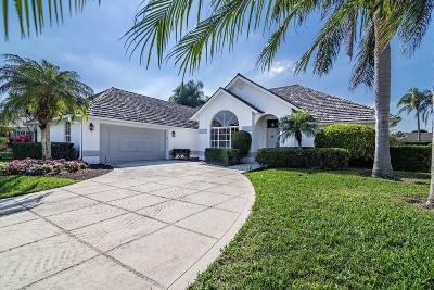 Palm Beach Gardens Single Family Home For Sale: 13241 Bonnette Drive