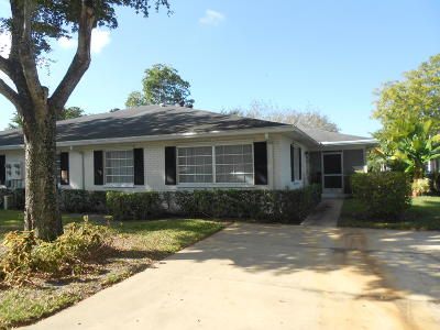 Boynton Beach Single Family Home For Sale: 10121 45th Terrace S #449