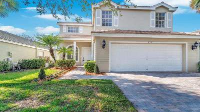 Royal Palm Beach Single Family Home For Sale: 259 Berenger Walk