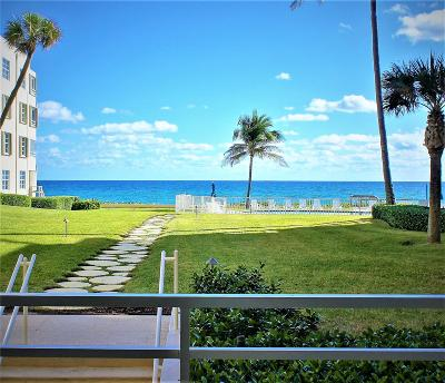 Highland Beach Condo For Sale: 2701 S Ocean Boulevard #15, 16