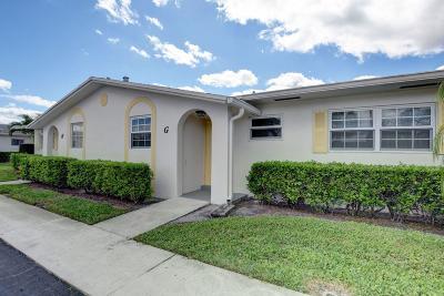 West Palm Beach Condo For Sale: 2630 Emory Drive E #G