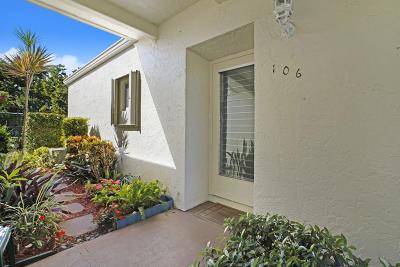 West Palm Beach Condo For Sale: 2671 Boundbrook Boulevard #106