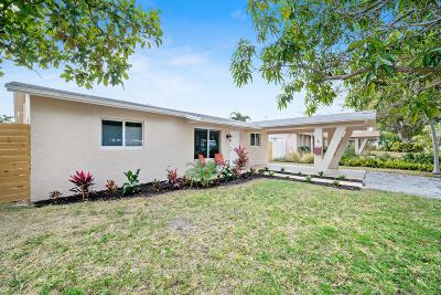 Pompano Beach Single Family Home For Sale: 1316 SE 2nd Street