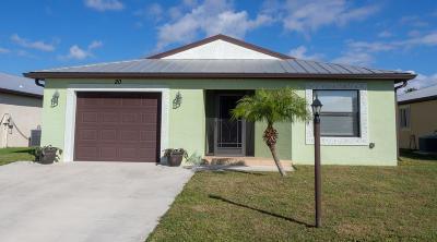 Fort Pierce Single Family Home For Sale: 20 Vera Cruz