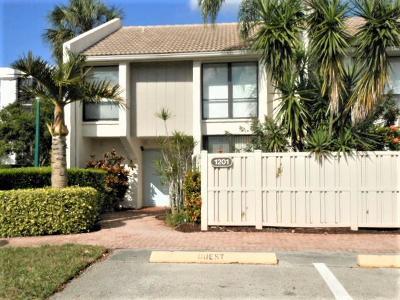Boca Raton Townhouse For Sale: 1201 Bridgewood Place