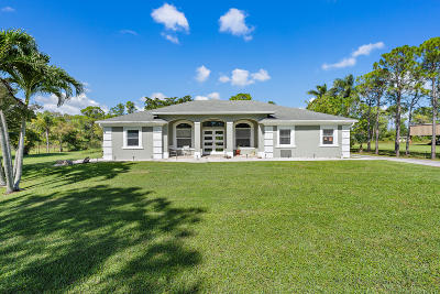 Loxahatchee Single Family Home For Sale: 17893 71st Lane