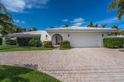 Singer Island Single Family Home For Sale: 1150 Fairview Lane