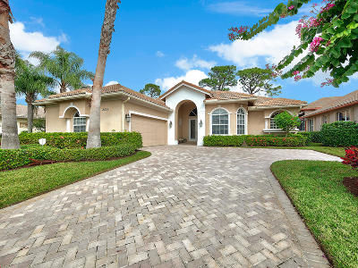 Port Saint Lucie Single Family Home For Sale: 8836 One Putt Place