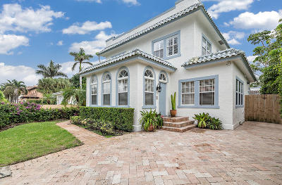 West Palm Beach Single Family Home For Sale: 224 10th Street