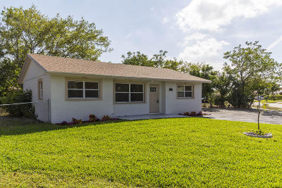 Boynton Beach Single Family Home For Sale: 2190 NE 1st Lane