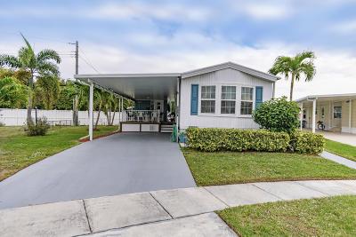 Boynton Beach Mobile Home For Sale: 4094 Bougainvillea Road