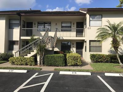 Lake Worth Condo For Sale: 7585 Tahiti Lane #106