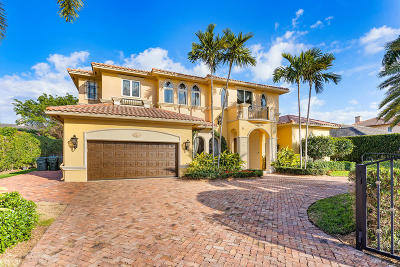 Boca Raton Single Family Home For Sale: 2352 Date Palm Road