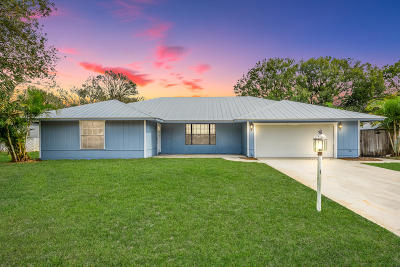 Fort Pierce Single Family Home For Sale: 5200 Paleo Pines Circle