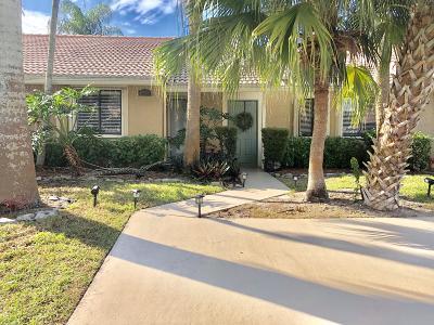 Boynton Beach Single Family Home For Sale: 9943 62nd Terrace S #B